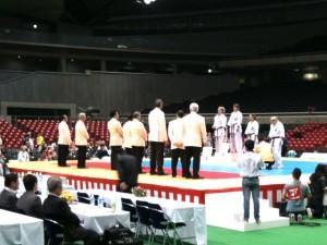 極真会館 2011世界女子空手道選手権大会